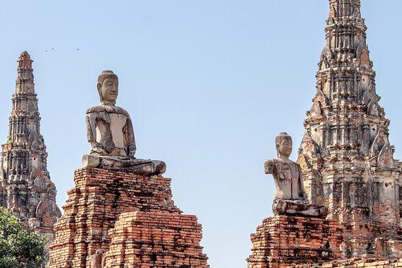 Statuen in Ayutthaya