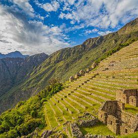 A morning @ Machu Picchu (Peru) van Tux Photography
