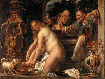 Susanna und die Ältesten, Jacob Jordaens