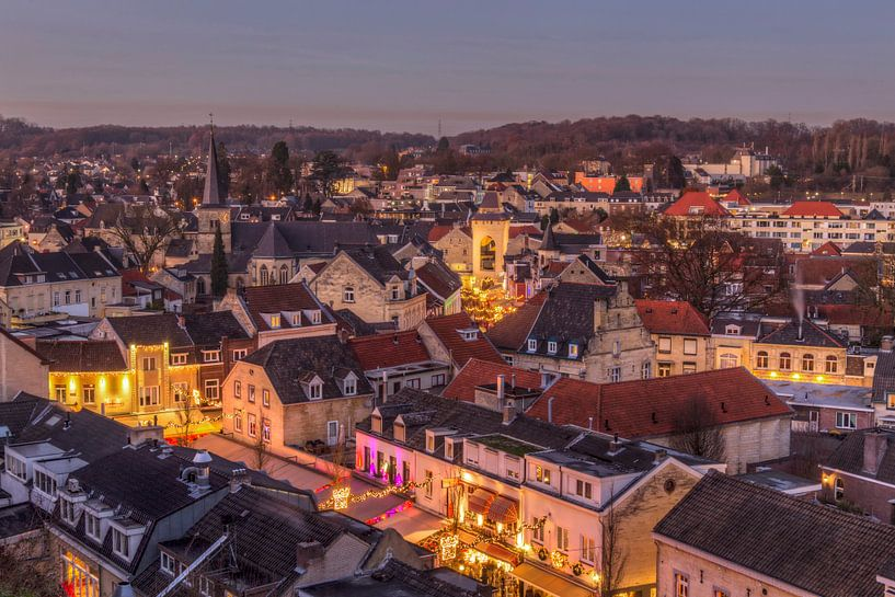 Kerstsfeer in Valkenburg aan de Geul van John Kreukniet
