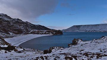 Reykjanes in de winter van Timon Schneider