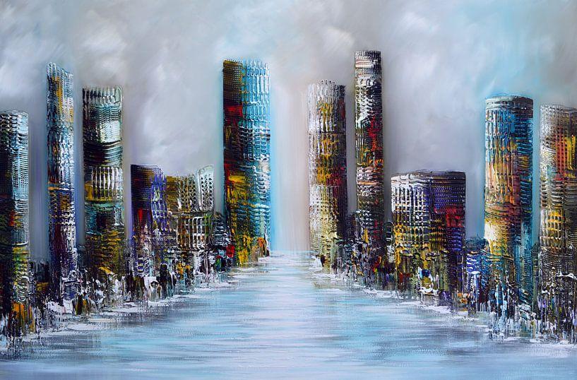 City  von Gena Theheartofart