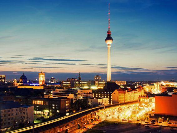 Berlin – Skyline Alexanderplatz