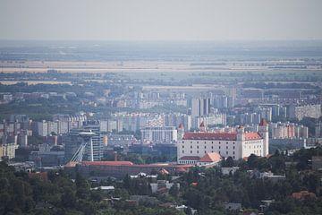 Vue sur Bratislava sur Steven Marinus