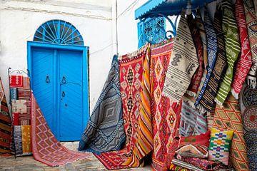 Winkel in Sidi Bou Said van Marit Lindberg