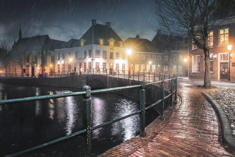 Regenachtig Amersfoort van Wesley Heyne