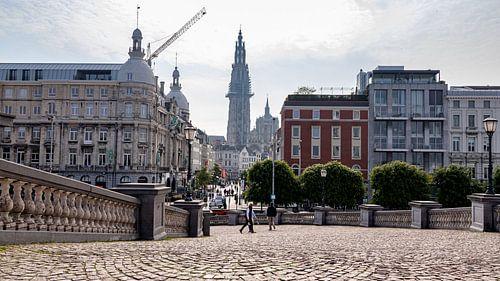 Doorkijkje op Antwerpen