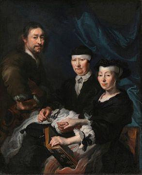 Der Künstler mit seiner Familie, Karel van Mander (III)