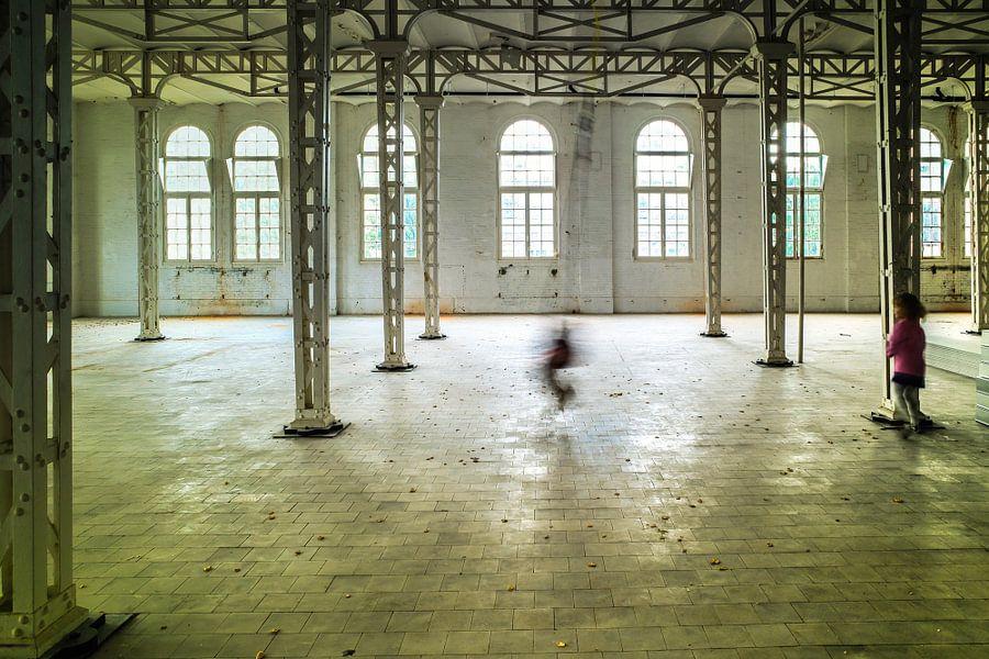 schommelen in Den Bosch van Eugene Winthagen