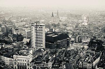Utrecht vanaf de Domtoren van Jaap Ros