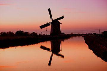 Windmühle Nr. 1 von Mario Bentvelsen