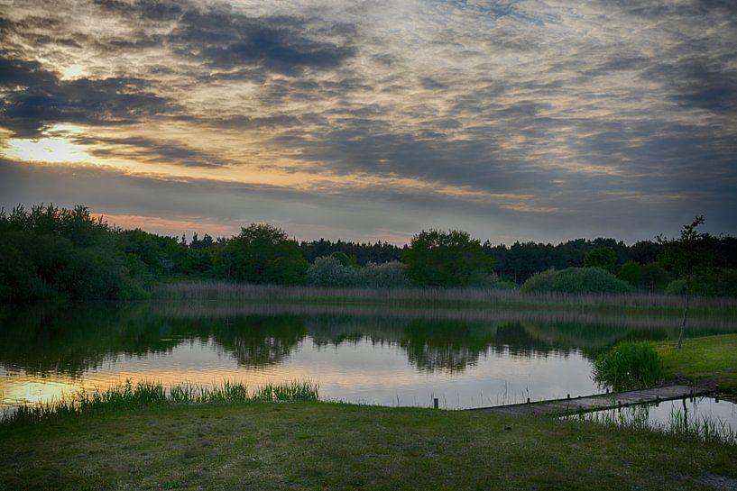 De Vleyen bij Nes (Ameland) van Hanneke Duifhuize
