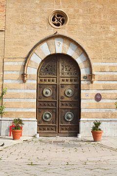Vieille porte Palazzo Galletti Di San Cataldo, Palerme, Sicile, Italie, Europe sur Torsten Krüger