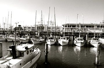 Bateaux NB, San Francisco, Californie van Samantha Phung