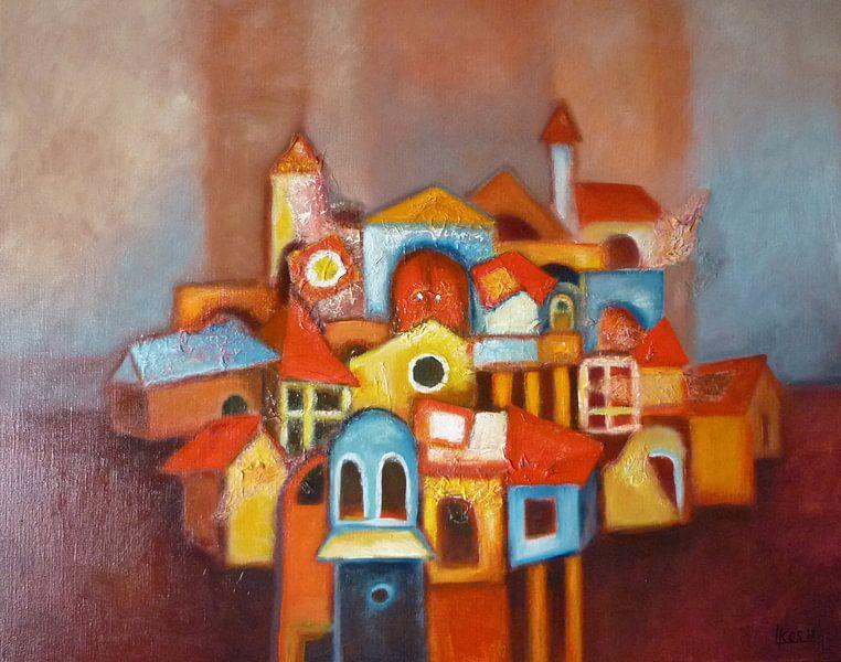 De Oude stad van Lorette Kos