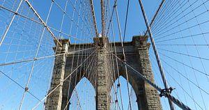 Brooklyn Bridge New York van Josina Leenaerts