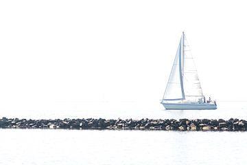 Segelboot von Hennie Zeij