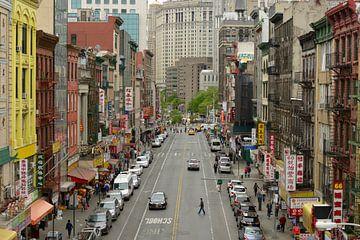 Chinatown in Manhattan New York von Merijn van der Vliet