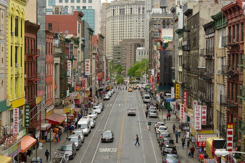 Chinatown in Manhattan New York van Merijn van der Vliet