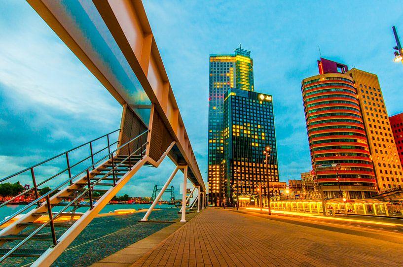 Kop van zuid Rotterdam van Maurice B Kloots      www.Fototrends.nl