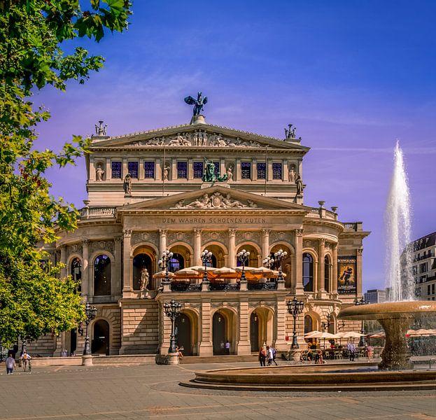 Alte Oper in Frankfurt am Main von Bernd Müller
