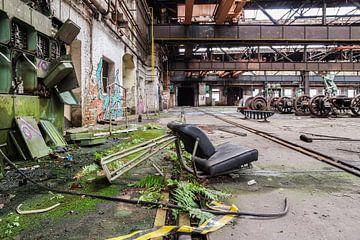 Décomposition d'une ancienne usine en ex-RDA sur Animaflora PicsStock