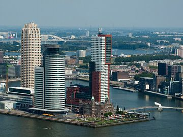 Wilhelminakade Rotterdam van P van Beek
