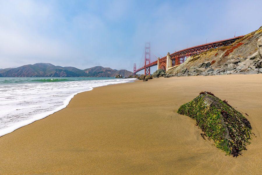 Golden Gate Beach van Remco Bosshard