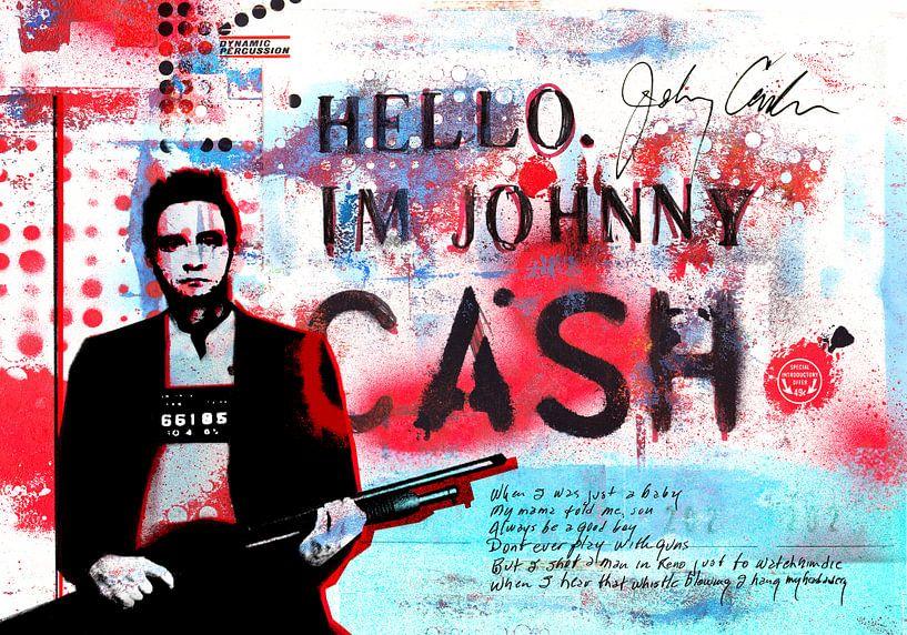 Hello I'm Johnny Cash #2 van Feike Kloostra