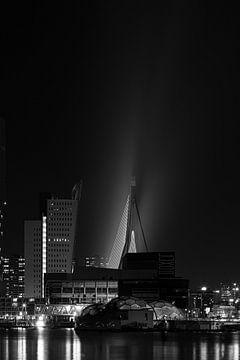 Erasmus-Brücke in Rotterdam von Arend van der Salm