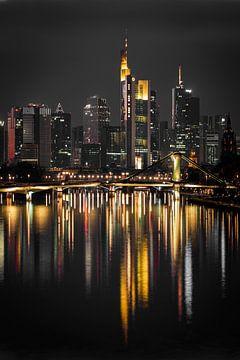 Frankfurt Skyline van Renato Dehnhardt