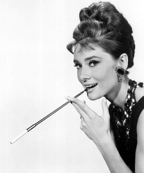 Audrey Hepburn in dem Film Frühstück bei Tiffany's