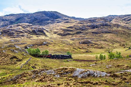 Schotland, Harry Potter trein van