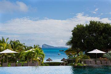 Adembenemend uitzicht Mauritius van Maikel Dijkhuis