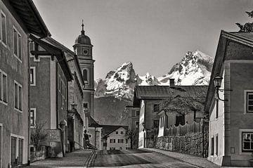 Berchtesgaden met de Watzmann van Christine Nöhmeier