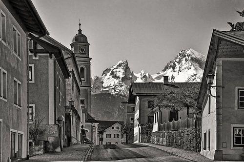 Berchtesgaden met de Watzmann