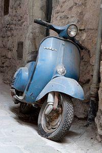 scooter in Airole, Italie van