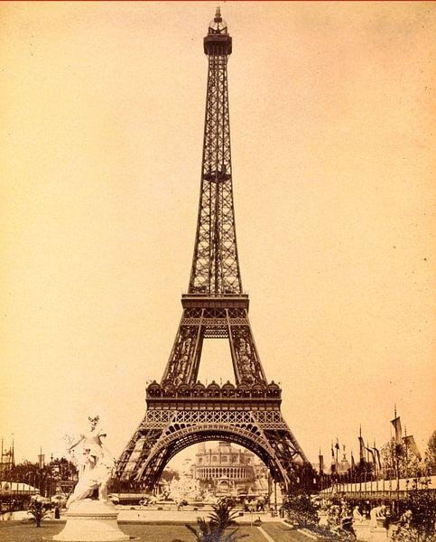 Eiffeltoren, Parijs Exposition van Liszt Collection