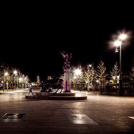 Koemarkt in Purmerend van Jan van der Knaap
