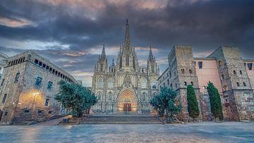 Kathedraal van Barcelona van Manjik Pictures