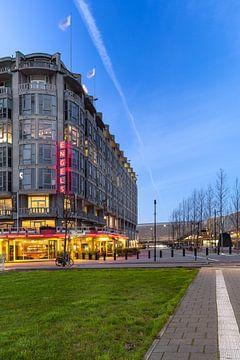 Groot handelsgebouw van Prachtig Rotterdam