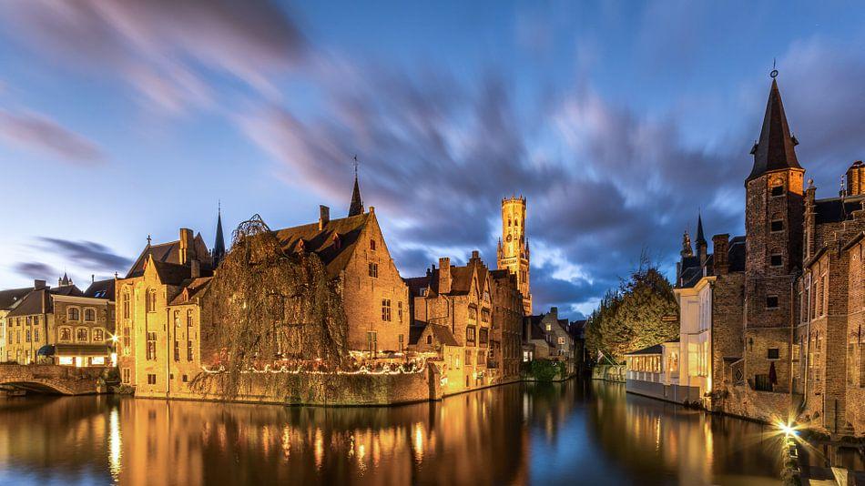Brugge - Rozenhoedkaai van B-Pure Photography