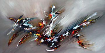 Abstrakte Energie von Gena Theheartofart