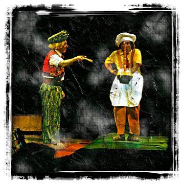 Clowns von Leopold Brix