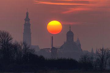 Middelburg Skyline von Gijs Koole