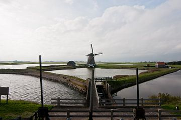 Mühle auf Texel von Anita van Hengel