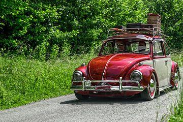 Oldtimer rondrit III VW Beetle van