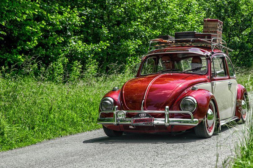 Oldtimer rondrit III VW Beetle van Ronald De Neve