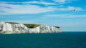 De witte krijtrotsen van Dover van