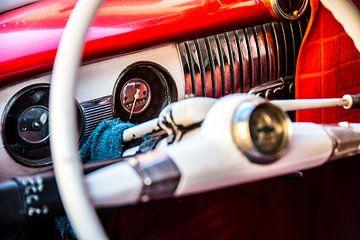 Dashboard oldtimer Cuba